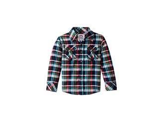 Appaman Kids Extra Soft Flannel Shirt with Elbow Detail (Toddler/Little Kids/Big Kids)
