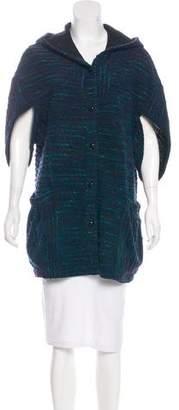 Anna Sui Short Tweed Coat