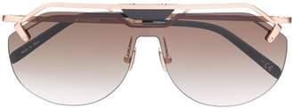 Hublot Eyewear shield sunglasses