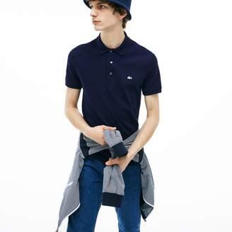 Lacoste Men's Slim fit Polo Shirt in stretch petit pique
