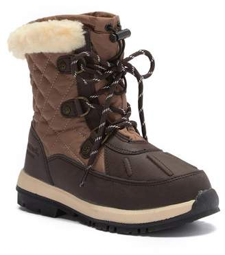 BearPaw Bethany Wool and Genuine Sheepskin Lined Boot (Little Kid & Big Kid)