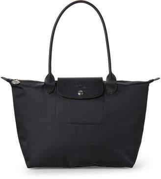Longchamp Black Le Pliage Neo Medium Tote
