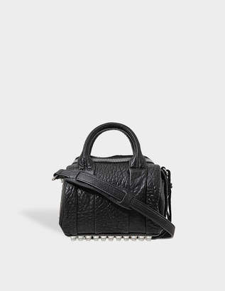 Alexander Wang Mini Rockie Silver Finish