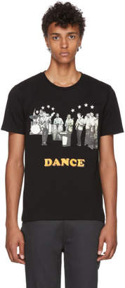 Wacko Maria Black Dance Heavyweight T-Shirt