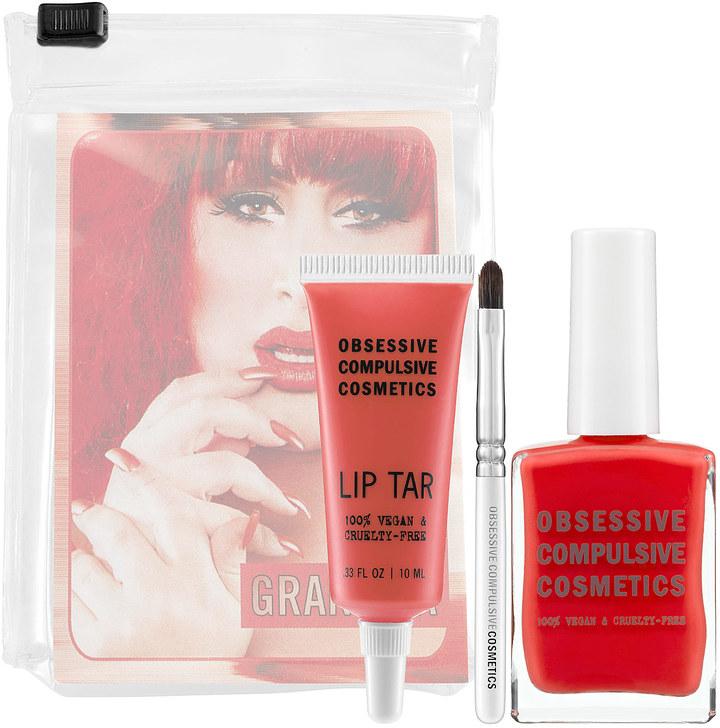 Obsessive Compulsive Cosmetics Lip Tar & Nail Lacquer Set