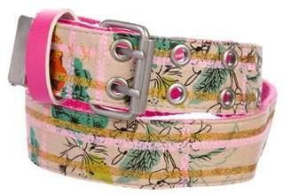 Ikks Girls' Printed Belt w/ Tags