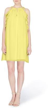 Catherine Malandrino Natalie Tie Shoulder Shift Dress