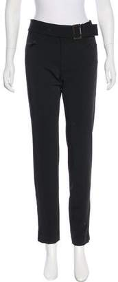 Philosophy di Alberta Ferretti Mid-Rise Virgin Wool Blend Pants