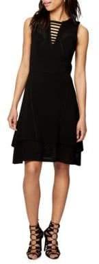Rachel Roy Mixed Stitch Sweater Dress