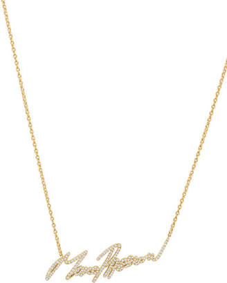 Stephen Webster More Passion Pave Diamond Pendant Necklace
