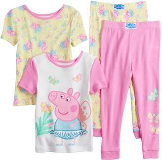Toddler Girl Peppa Pig Tops & Bottoms Pajama Set
