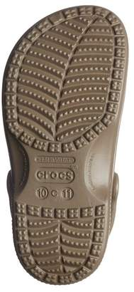 Crocs Ralen Faux Fur Lined Clog (Little Kid)