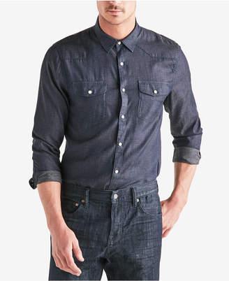 Lucky Brand Men's Snap-Front Western Shirt