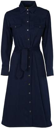 A.P.C. Denim Shirt Dress