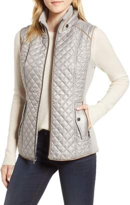 Gallery Quilted & Knit Vest