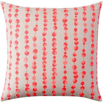 Pottery Barn Teen Sun Kissed Euro Pillow Cover, Neon, 26 X 26