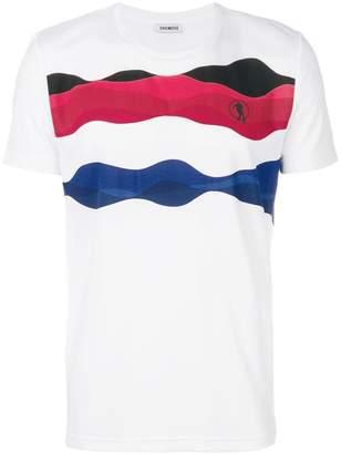 Dirk Bikkembergs printed T-shirt