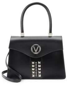 Melanie Soave Leather Satchel