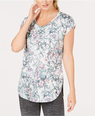 Macy's Ideology Floral-Print T-Shirt, Created for