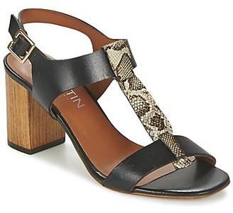 JB Martin HIT women's Sandals in Black