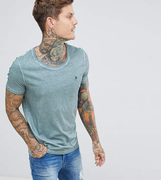 Noose & Monkey Relaxed Skater Scoop Neck Dirty Wash T-Shirt