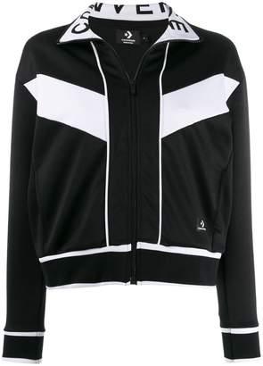 2145db643ec6a6 Converse contrast trim jacket. Converse contrast trim jacket · £232. Get a  Sale Alert View Details · at La Redoute · Converse Straight Cut Zipped  Camouflage ...