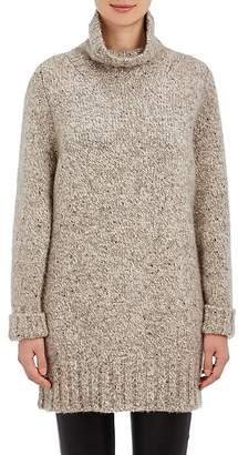 The Row Women's Cashmere Oversized Turtleneck Sweater