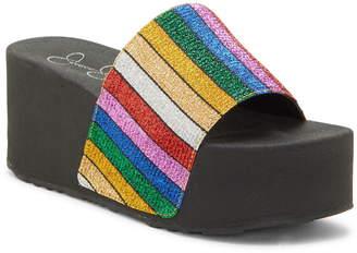 Jessica Simpson Platform Slide Sandal