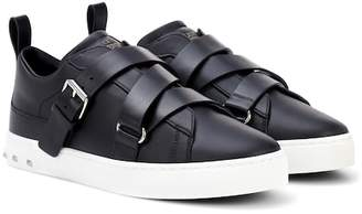 Valentino Soul Rockstud leather sneakers