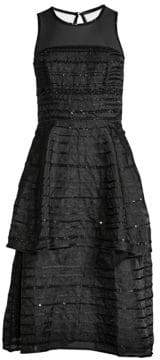 Parker Black Avril A-Line Dress
