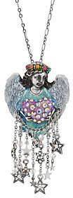 Angel Heart Kirks Folly Celestial Pin Pendantwith Chain