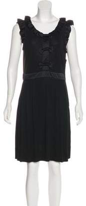 Marc by Marc Jacobs Bow-Accented Sleeveless Dress