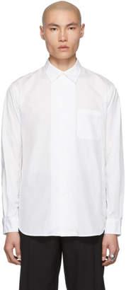 Yohji Yamamoto White Poplin Shirt