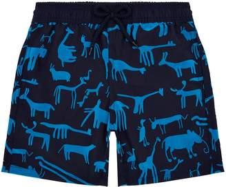 Vilebrequin Animal Print Swim Shorts