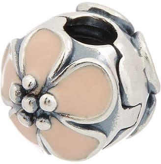 Pandora Moments Collection Silver & Enamel Cherry Blossom Clip Charm