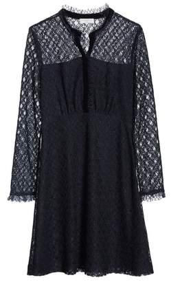 Sandro Lace Overlay Mini Dress