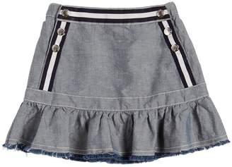Moncler Cotton Chambray Skirt