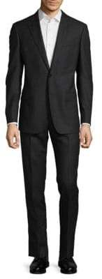 Armani Collezioni Checked Two-Button Suit