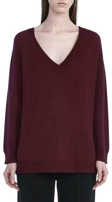 Alexander Wang Cashwool V Neck Sweater