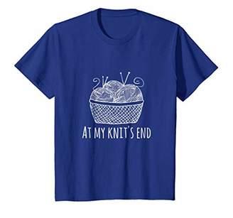 Funny Knitting Shirt Gifts For Knitter Basket Yarn Needles