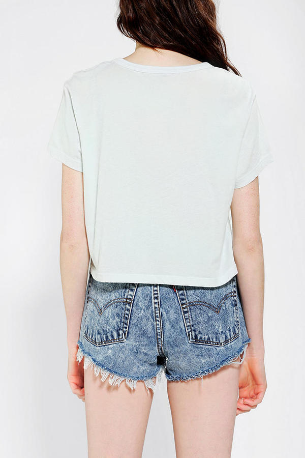 Truly Madly Deeply Super- Cropped Tee