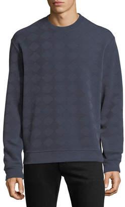 Emporio Armani Men's Geometric Jacquard Sweatshirt