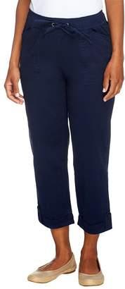 Liz Claiborne New York Jackie Pull-On Crop Pants