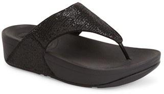 FitFlop 'Lulu - Superglitz' Sandal $79.95 thestylecure.com