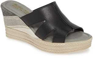 Bella Vita Rox Wedge Slide Sandal