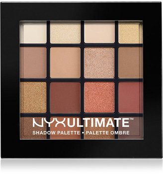 NYX Professional Makeup Ultimate Shadow Palette - Warm Neutrals $18 thestylecure.com
