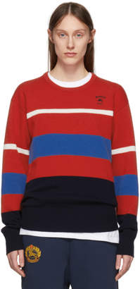 Burberry Multicolor Stripe Rugby Sweater