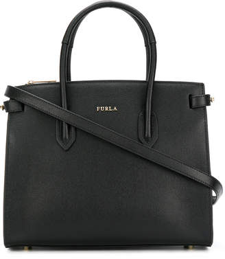 Furla Pin Leather Shoulder Bag