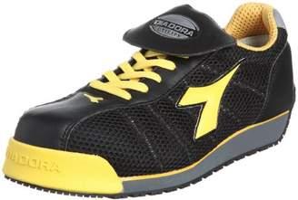 Diadora (ディアドラ) - [ディアドラユーティリティ] 作業靴 スニーカー KF25 KF25 ブラック&イエロー(ブラック&イエロー/26.5)