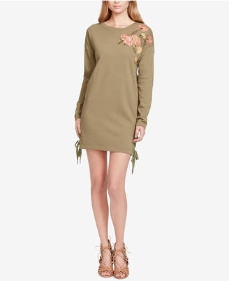 Jessica Simpson Brunetta Embroidered Sweater Dress